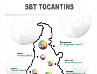 sbttocantins.com.br screenshot