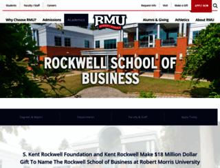 sbus.rmu.edu screenshot