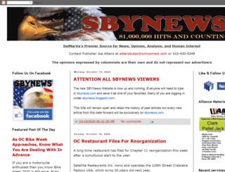 sbynews.blogspot.com screenshot