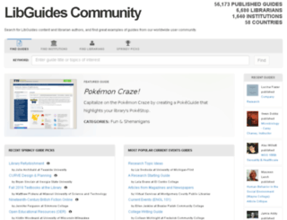 sc.libguides.com screenshot