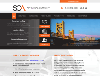 sca-appraisal.com screenshot