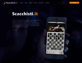 scacchisti.it screenshot