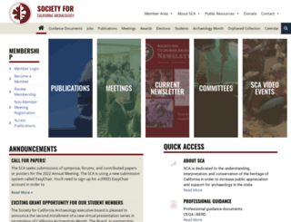 scahome.org screenshot