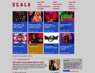 scala.co.uk screenshot