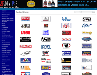scalemodelsandparts.com screenshot