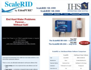 scaleridsave.com screenshot