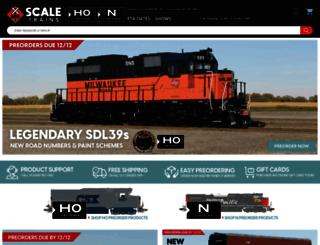 scaletrains.com screenshot