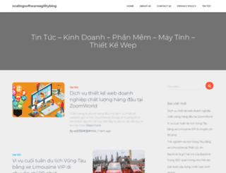 scalingsoftwareagilityblog.com screenshot