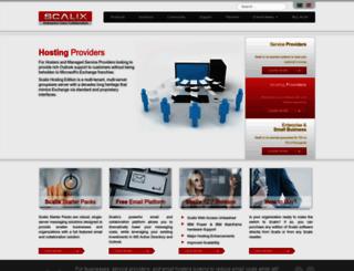 scalix.com screenshot