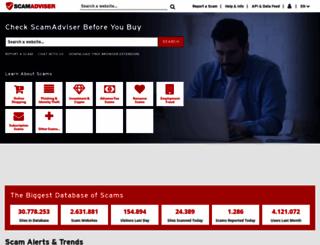 scamadviser.com screenshot