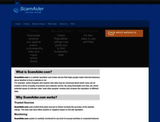 scamaider.com screenshot