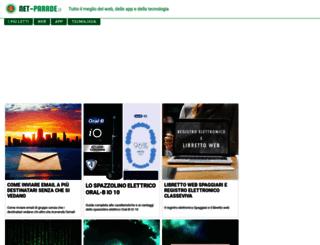 scambiobanner.net-parade.it screenshot