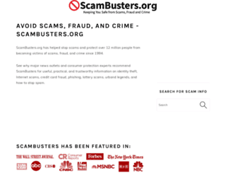 scambusters.org screenshot