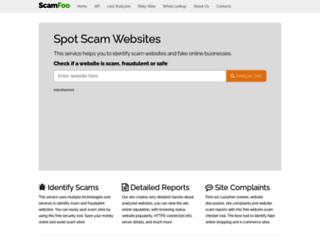 scamfoo.com screenshot