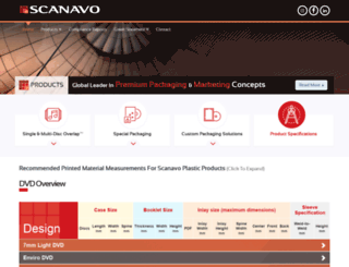 scanavo-mediapackaging.com screenshot