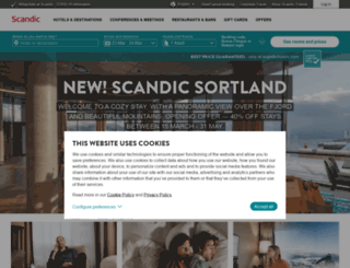 scandic-hotels.com screenshot