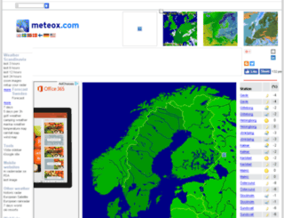 scandinavia.meteox.com screenshot
