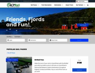 scandinavianrail.com screenshot