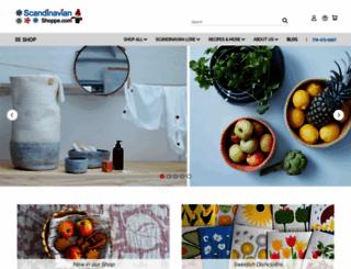 scandinavianshoppe.com screenshot