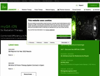 scanditronix-wellhofer.com screenshot