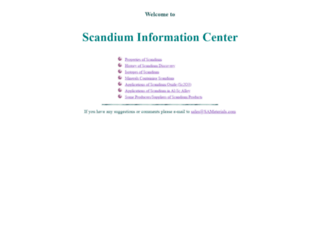 scandium.org screenshot