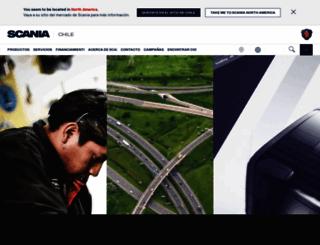 scania.cl screenshot
