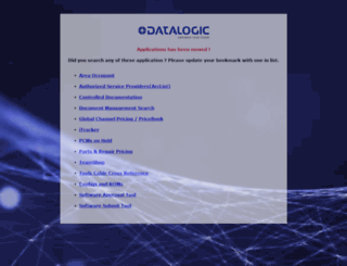 scanning2.datalogic.com screenshot