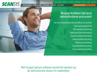 scansys.nl screenshot