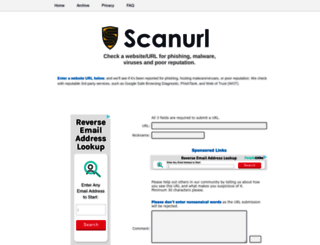 scanurl.net screenshot