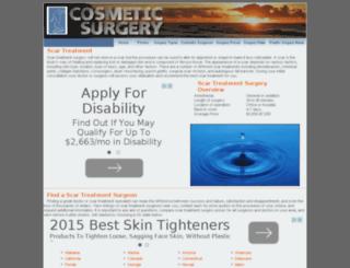 scar-treatment.cosmeticsurgeryprocedure.com screenshot