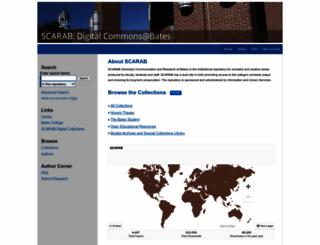scarab.bates.edu screenshot