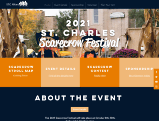 scarecrowfest.com screenshot