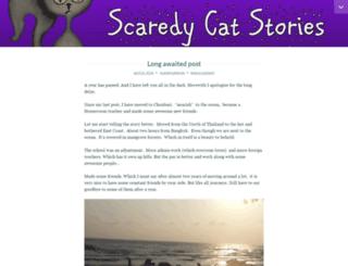 scaredycatstories.wordpress.com screenshot