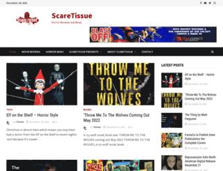 scaretissue.com screenshot