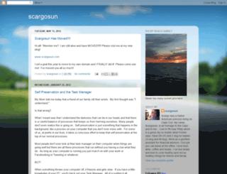 scargosun.blogspot.com screenshot