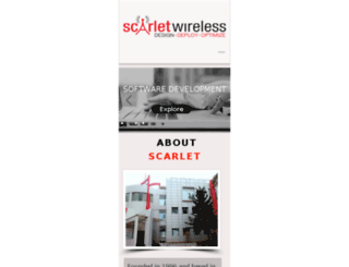 scarlet.co.in screenshot
