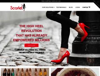 scarletfreshshoe.com screenshot