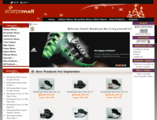 scarpemall.com screenshot