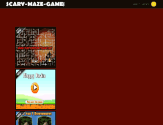 scary-maze-game.org screenshot