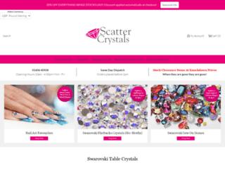 scattercrystals.co.uk screenshot