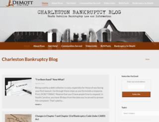 scbankruptcyattorney.com screenshot