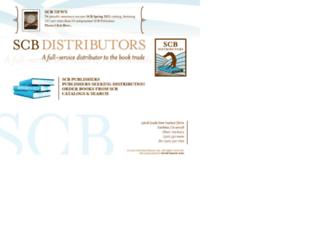 scbdistributors.com screenshot