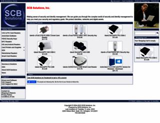 scbsolutions.com screenshot