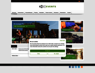 scc-events.com screenshot