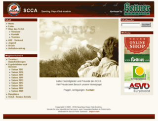 scca.at screenshot
