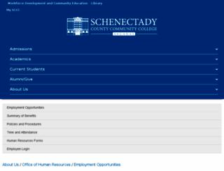 sccc.interviewexchange.com screenshot