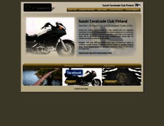 sccf.fi screenshot