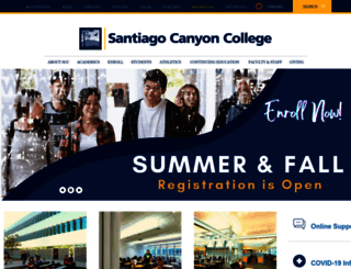 sccollege.edu screenshot
