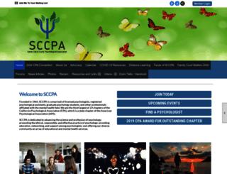 sccpa.clubexpress.com screenshot