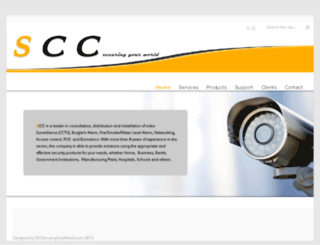 sccsecuringyourworld.com screenshot